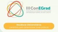 Publicação: Anais do III Congresso de Ensino de Graduação - 2017